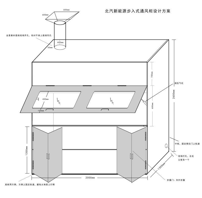 通风柜设计图