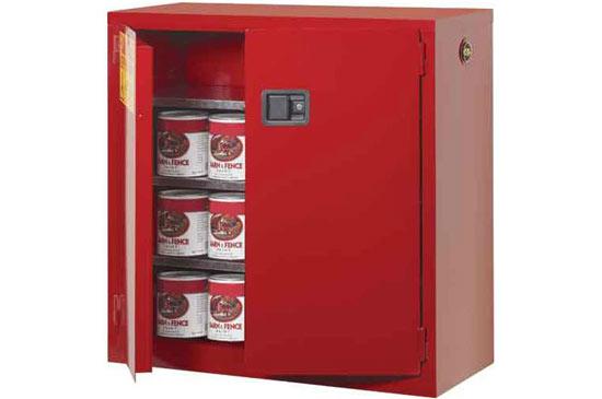 弱fu蚀性化学品存储柜(红色)